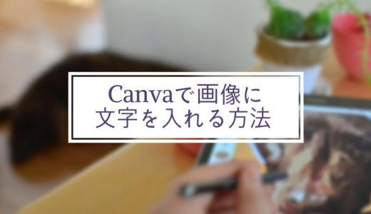 【Canva】初心者でも簡単にブログのアイキャッチ画像にお洒落に文字を入れる方法とは?